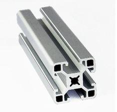 4040 EF Aluminum Profile Extrusion 40 Series, Aluminum Tube Length 1 Meter