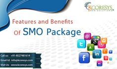 Social media optimization (#SMO) is the comprehensive management of #online content that is liable to be shared through more popular social networks. This form of participation in the contents and ideas expressed in various social media sites is increasingly being integrated into #search #results.