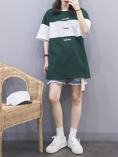 Would prob wear this with jeans tho Korea Fashion, Asian Fashion, Teen Fashion, Womens Fashion, Chic Outfits, Girl Outfits, Fashion Outfits, Fashion Dictionary, Ulzzang Fashion