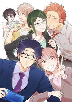The staff of the television anime adaptation Fujita's Otaku ni Koi wa Muzukashii (Love is Hard for an Otaku) manga announced on Friday that Aoi Yūki . Otaku Anime, Anime Shojo, Relife Anime, Gekkan Shoujo, Fanarts Anime, Anime Life, Kawaii Anime, Anime Characters, Anime Art