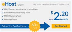 Ehost offer one shared hosting plan that's low-cost and comes with a good amount…