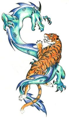 Colored Dragon Designs For Tattoo Hunter  Free Download 11316