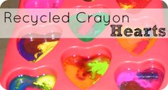 I have added more items since originally posting this! So enjoy and let me know if you have a Valentine you'd like to add. Easy Homemade Lip Balm Recipe is great for family members. Homemade Valentine Pails For Kidsusing recycled yogurt containers.Easy for the kids to do! Recycled Crayon Hearts is a great way to …