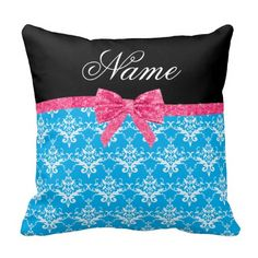 =>quality product          Custom name sky blue damask pink glitter bow pillow           Custom name sky blue damask pink glitter bow pillow you will get best price offer lowest prices or diccount couponeDeals          Custom name sky blue damask pink glitter bow pillow Review from Associat...Cleck Hot Deals >>> http://www.zazzle.com/custom_name_sky_blue_damask_pink_glitter_bow_pillow-189719149540838919?rf=238627982471231924&zbar=1&tc=terrest