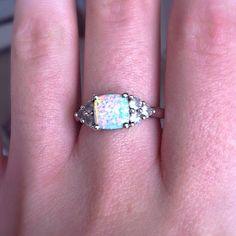 My beautiful opal ring