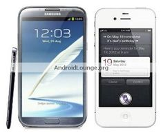 Specs Comparison: Samsung Galaxy Note 2 vs. Apple iPhone 4S