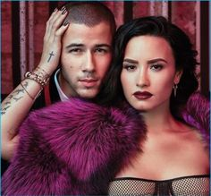 Nick Jonas & Demi Lovato Are Friends with Benefits for Billboard Cover Story