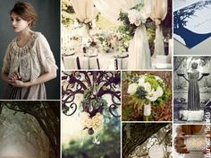 {midnight in the garden of good and evil} southern gothic wedding inspiration board based on Midnight in the Garden of Good and Evil http://burnettsboards.com/2012/10/midnight-garden-good-evil/