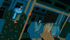 Tu recepcja - Illustrations by Yukai Du I am an illustrator...
