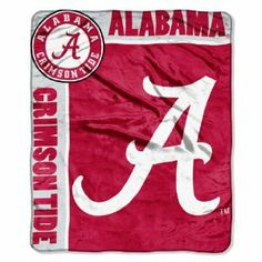 "NCAA Alabama Crimson Tide 50-Inch-by-60-Inch Raschel Plush Throw ""School Spirit"" Design by Northwest. $27.99. Made in China. 100% Polyester. Machine Wash Cold Using Cold Water and Delicate Cycle; Do Not Bleach; Tumble Dry on Low and Gentle Cycle; Do Not Iron. Officially Licensed Blanket. Measures 50-Inches-by-60-Inches. This officially licensed team logo throw is simple yet effective at capturing fans admiration and rallying support for your favorite college team's victory...."