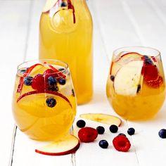 Apple Cider Sangria Mocktail