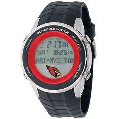 Arizona Cardinals Mens Schedule Wrist Watch