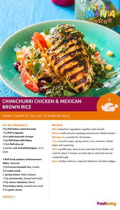Get them while they're hot! Off the grill? No…hot on sale. This Chimichurri dish will taste even more delish with PnP Fresh Skinless Chicken #dailydish #picknpay #freshliving