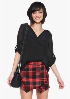 Let it Be blouse in Black | Necessary Clothing #streetstyle