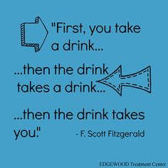 This is how a progressive disease feels. #powerless #recovery #Fitzgerald #addiction
