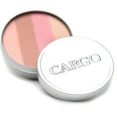 CARGO BeachBlush Cheek Color, Sunset Beach 0.32 oz (9.5 ml) featuring polyvore, beauty products, makeup, cheek makeup, blush, beauty, shimmer blush and cargo blush