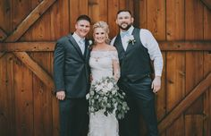 Megan and Chris had a beautiful rustic wedding at The Grace Barn in Del Rey, California this past weekend and it was stunning! The photos turned out so good, we couldn't be happier! Wedding Groom, Rustic Wedding, Groom Attire, California Wedding, Barn, Wedding Photography, Wedding Dresses, Photos, Beautiful