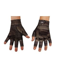 Hearty 2017 Winter Anime Fate/stay Night Glove Half Finger Couple Cartoon Fate Zero Mitten Print Black Gloves Unisex Cosplay Gift Back To Search Resultsapparel Accessories