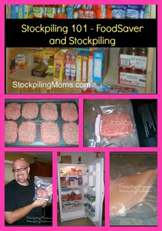Terrific Pics Stockpiling 101 - FoodSaver and Stockpiling Tips Probably the most important issues in the kitchen is food storage devices methods. For millennia, Emergency Food, Survival Food, Survival Prepping, Emergency Preparedness, Prepper Food, Survival Equipment, Freezer Cooking, Freezer Meals, Cooking Tips