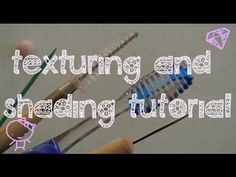 ▶ Polymer Clay Texturing  Shading Tutorial♡ - YouTube