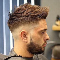 Faux Hawk + High Taper Fade - Best High Fade Haircuts For Men: Cool High Taper Fade Hairstyles, High Skin, Bald, Taper, Undercut Fade Mens Haircuts Faux Hawk Hairstyles, Cool Hairstyles For Men, Trending Hairstyles, Hairstyles Haircuts, Haircuts For Men, Blowout Hairstyles, Classy Hairstyles, Mens Hairstyles Fade, Popular Haircuts