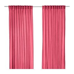 IKEA Vivian 2 Curtains 300 x 145 CM with Tunnel Hem, Covered Loops and Heading Tape on Upper Edge-Pink-PINK Ikea http://www.amazon.co.uk/dp/B00TDKK71K/ref=cm_sw_r_pi_dp_fc8lwb1TYYK4R