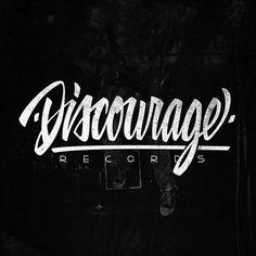 DISCOURAGE Records — damiankingart.com, via Flickr