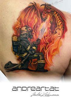 Tattoo Sketches, Tattoo Drawings, Body Art Tattoos, New Tattoos, Firefighter Decor, Firefighter Tattoos, Firefighter Birthday, Tasteful Tattoos, Cool Tats