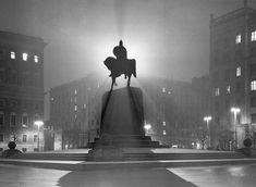 Советская площадь (Тверская площадь). Москва, 1954 год