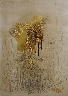La Grande Liberté - Pintura,  50x70 cm ©2008 por Maria Antónia Santos -                                                        Pintura contemporânea, Tela, Arte abstrata