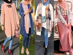 Fall hijab outfits in warm colors – Just Trendy Girls