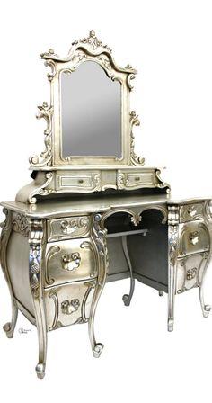Exquisite Silver Vanity/Dresser