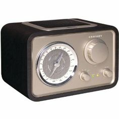 Amazon.com: Crosley Solo Radio CR221 Black: Electronics