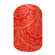 Spiced Lace nail wraps by Jamberry Nails
