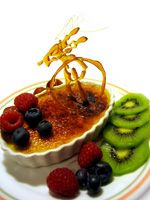 """The French know how to do dessert. From truffles to dessert wines, their after-dinner treats bring the word """"delicious"""" to mind and bring a sense of indulgence to life. Crème brulee is classic French dessert that doesn't disappoint most fans of. Köstliche Desserts, Delicious Desserts, Yummy Food, Fruit Recipes, Dessert Recipes, Fruit Dessert, Yummy Treats, Sweet Treats, Deserts"""