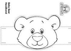 bear preschool headband craft at DuckDuckGo Teddy Bear Crafts, Teddy Bear Day, Headband Crafts, Hat Crafts, Bears Preschool, Preschool Crafts, Bear Mask, Goldilocks And The Three Bears, Bear Theme