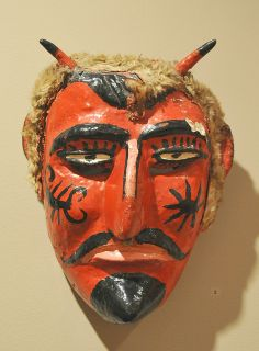 Red Devil Mask Mexico by Teyacapan, via Flickr