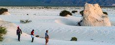 Dunas de yeso, impresionante escenario de Coahuila. Prepárate para ver uno de los mejores paisajes que tiene nuestro país, cuando llegues te darán ganas de caminar este campo descalzo