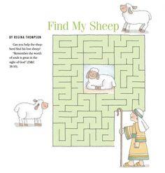 LDS Games - Mazes - Find My Sheep