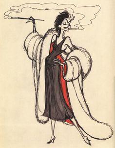 Cruella De Vil - Marc Davis