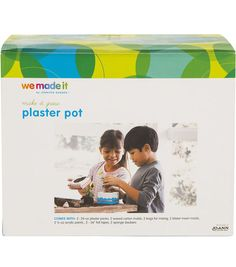 DIY Painted Pots kit for kids! // We Made It by Jennifer Garner Online Craft Store, Craft Stores, Kits For Kids, Crafts For Kids, Flower Press Kit, Design Guidelines, Painted Pots, Joann Fabrics, Plaster