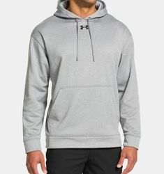 35a5d5d04 Under Armour Men's Armour® Fleece Team Hoodie Armour® Fleece fabrication  has a brushed inner layer and a quick-drying, smooth outer layer.