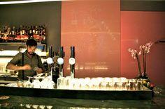 Miranda Bar (c) Stadtbekannt Wien Cocktails, Candles, Vienna, Austria, Bartenders, Nightlife, City, Craft Cocktails, Cocktail