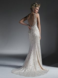 Maui Wedding Dress by Maggie Sottero | back