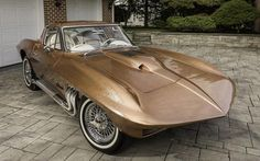 George Barris 1963 Asteroid Corvette Heads To Auction! Chevrolet Corvette, 2015 Corvette, Weird Cars, Cool Cars, Classic Trucks, Classic Cars, Vintage Cars, Antique Cars, Sexy Cars
