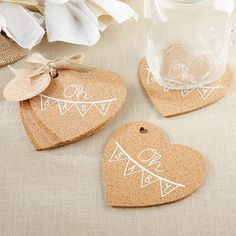 Pretty for using at the baby shower or as a favor, these oh baby rustic heart cork coasters are sure to impress your guests. Unique Baby Shower Favors, Baby Shower Party Favors, Baby Shower Fun, Baby Shower Parties, Baby Shower Decorations, Baby Shower Invitations, Baby Shower Gifts, Baby Gifts, Spa Party
