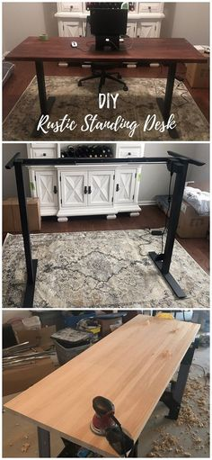 diy desk with hutch