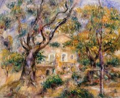 The Farm at Les Collettes, Renoir 1908, Fade Resistant HD Art Print in Art, Prints   eBay