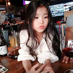 kim Gyuri Cute Asian Babies, Korean Babies, Asian Kids, Cute Babies, Ulzzang Kids, Korean Boys Ulzzang, Beautiful Children, Beautiful Babies, Kids Girls