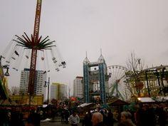 Berlin Fun Fair in December 2010